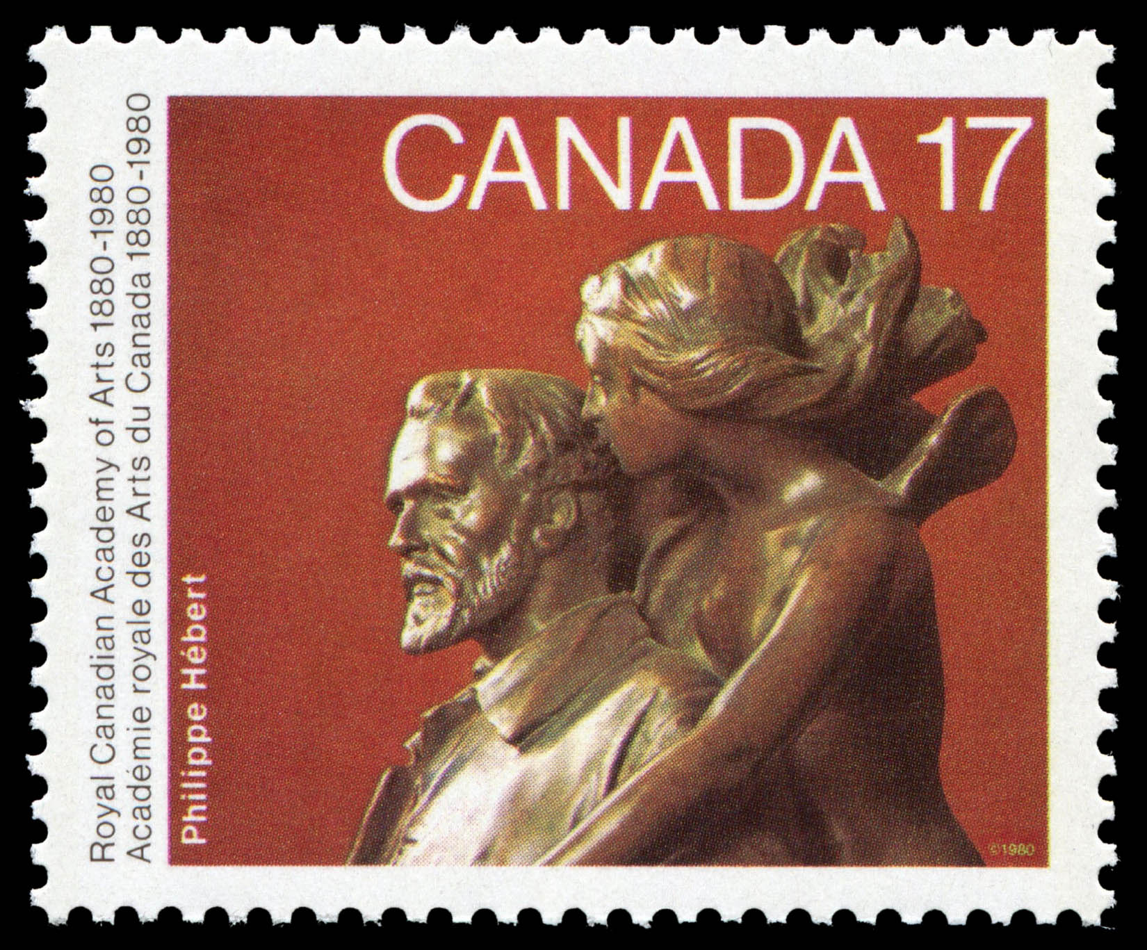 Louis-Philippe Hebert, Inspiration Canada Postage Stamp