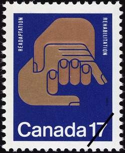 Rehabilitation Canada Postage Stamp