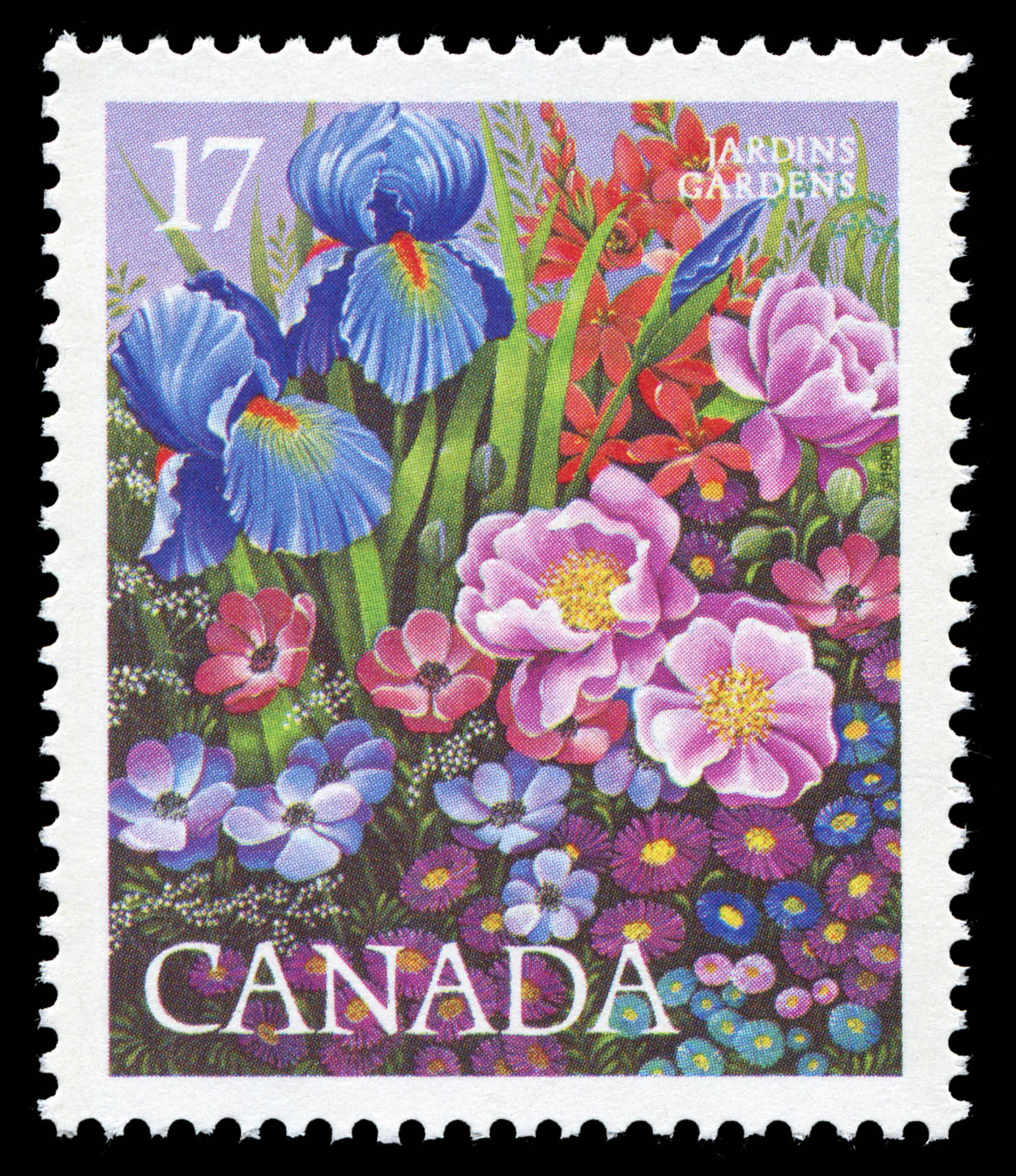 Gardens Canada Postage Stamp