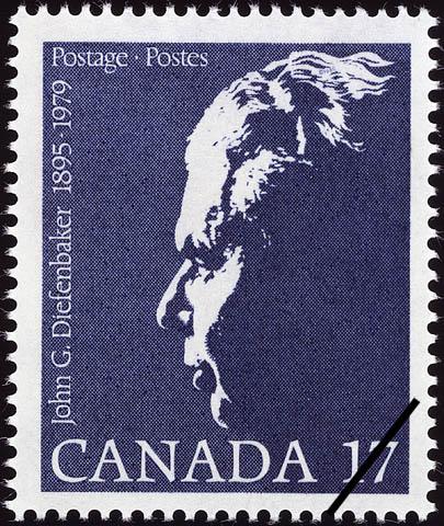 John George Diefenbaker, 1895-1979 Canada Postage Stamp
