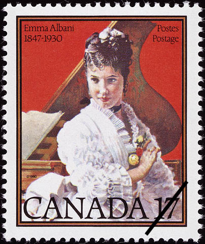 Emma Albani, 1847-1930 Canada Postage Stamp | Musicians