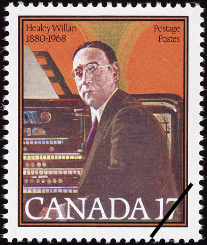 Healey Willan, 1880-1968 Canada Postage Stamp