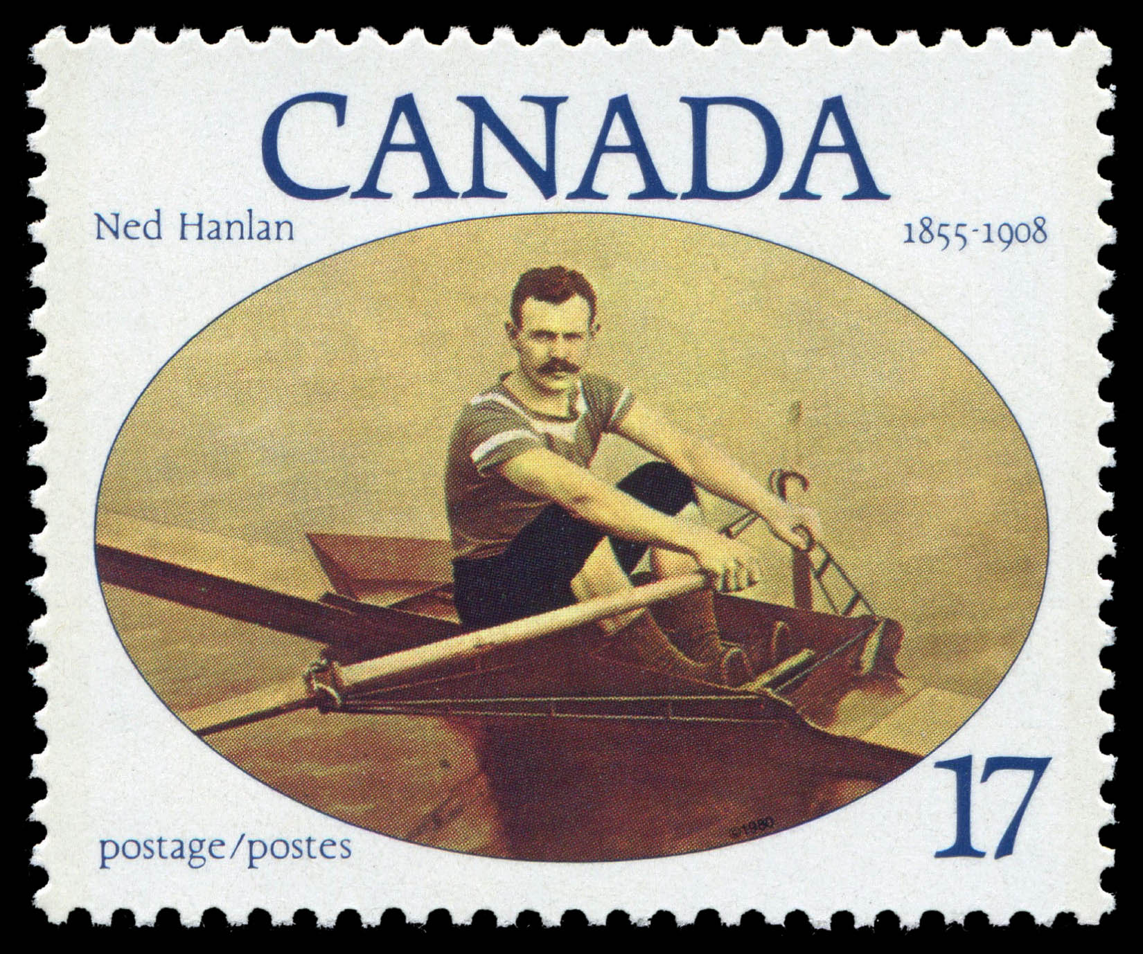 Ned Hanlan, 1855-1908 Canada Postage Stamp