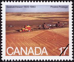 Saskatchewan, 1905-1980 Canada Postage Stamp