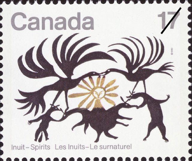 Return of the Sun Canada Postage Stamp