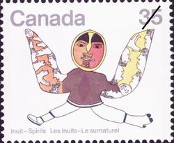 Shaman Canada Postage Stamp | Inuit, Spirits