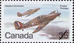 Hawker Hurricane  Postage Stamp