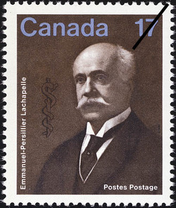 Emmanuel-Persillier Lachapelle Canada Postage Stamp