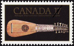 Antique Instruments Canada Postage Stamp