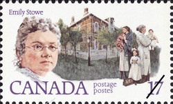 Emily Stowe Canada Postage Stamp | Feminists