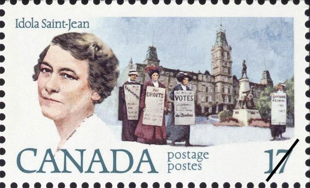 Idola Saint-Jean Canada Postage Stamp