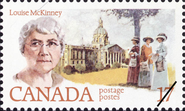 Louise McKinney Canada Postage Stamp