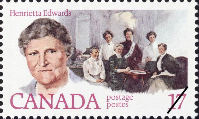 Henrietta Edwards Canada Postage Stamp