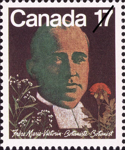 Frere Marie-Victorin Canada Postage Stamp | Botanists
