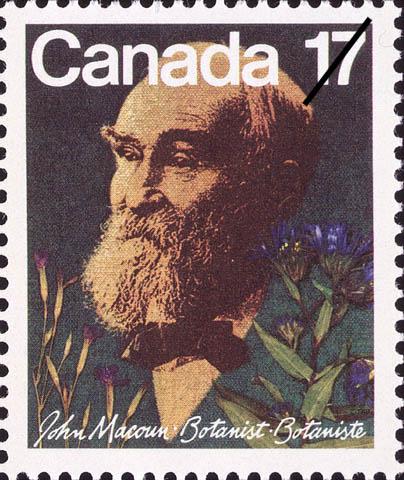 John Macoun Canada Postage Stamp