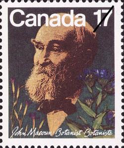 John Macoun Canada Postage Stamp | Botanists