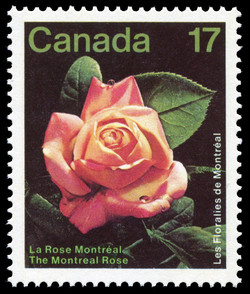 Les Floralies de Montreal, The Montreal Rose Canada Postage Stamp