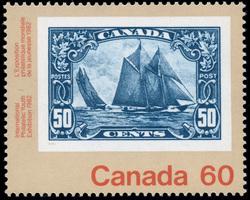 Bluenose, 1929 Canada Postage Stamp | International Philatelic Youth Exhibition