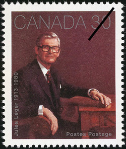 Jules Leger, 1913-1980 Canada Postage Stamp