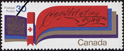 Constitution, 1982  Postage Stamp