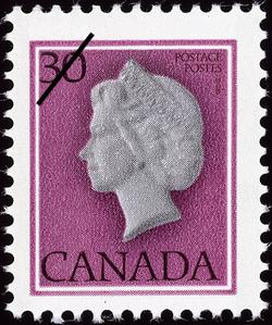 Queen Elizabeth II  Postage Stamp
