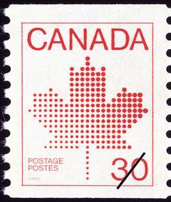 Maple Leaf  Postage Stamp