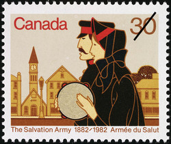 The Salvation Army, 1882-1982 Canada Postage Stamp