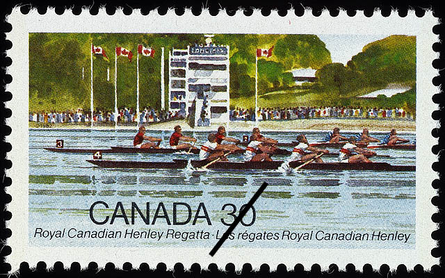 Royal Canadian Henley Regatta Canada Postage Stamp