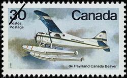 de Havilland Canada Beaver Canada Postage Stamp | Canadian Aircraft, Bush Aircraft