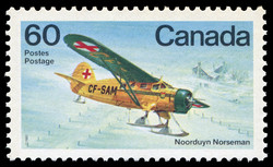Noorduyn Norseman Canada Postage Stamp | Canadian Aircraft, Bush Aircraft