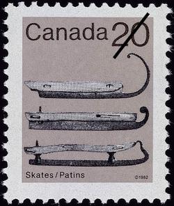 Skates  Postage Stamp