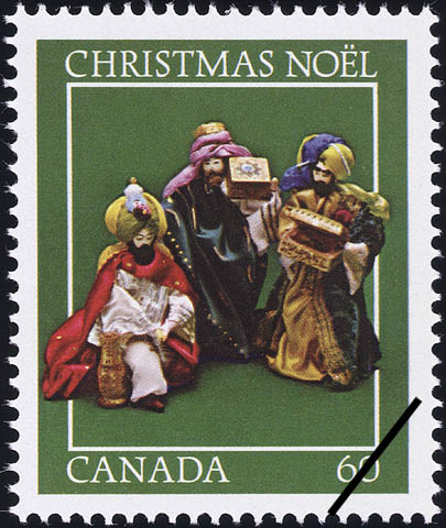 The Three Gift-bearing Magi Canada Postage Stamp | Christmas, Nativity Scenes