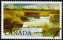 Point Pelee Canada Postage Stamp