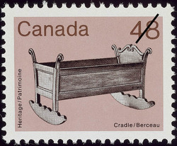 Cradle Canada Postage Stamp | Heritage Artifacts
