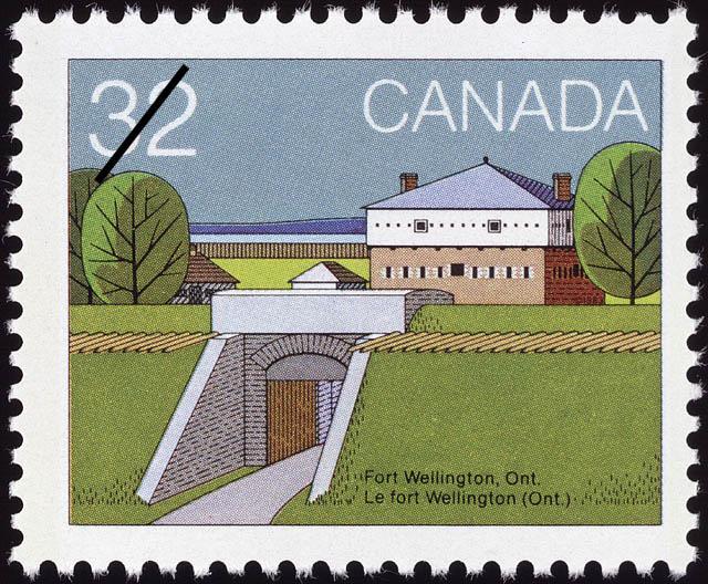 Fort Wellington, Ont. Canada Postage Stamp