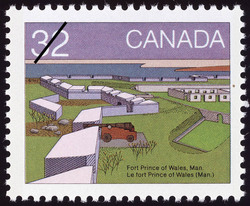 Fort Prince of Wales, Man. Canada Postage Stamp