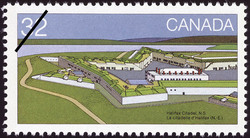 Halifax Citadel, N.S. Canada Postage Stamp | Canada Day, Forts across Canada