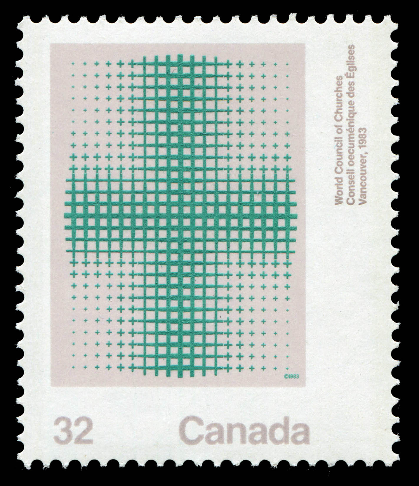 World Council of Churches, Vancouver, 1983 Canada Postage Stamp