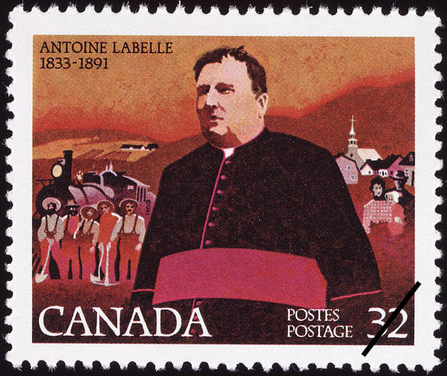 Antoine Labelle, 1833-1891 Canada Postage Stamp