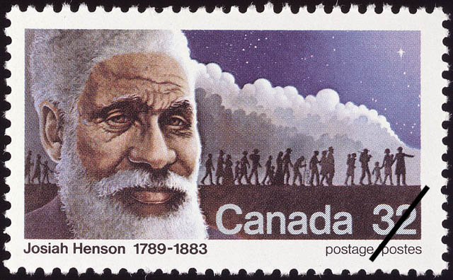 Josiah Henson, 1789-1883 Canada Postage Stamp