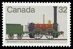Canadian Locomotives, 1836-1860 Canadian Postage Stamp Series