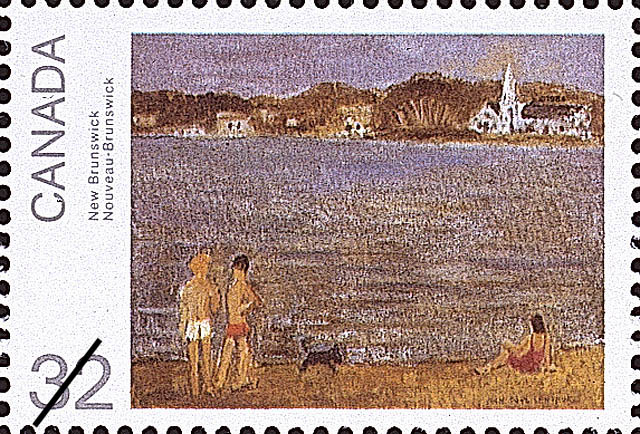 New Brunswick Canada Postage Stamp