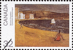 British Columbia  Postage Stamp
