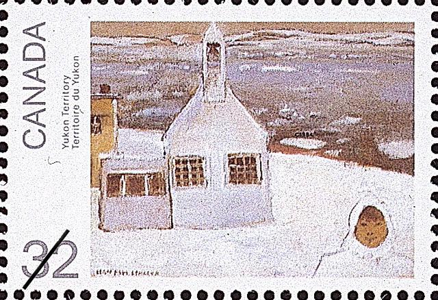 Yukon Territory Canada Postage Stamp