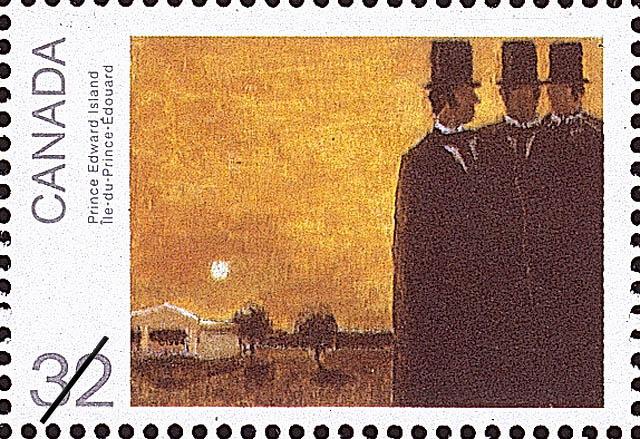 Prince Edward Island Canada Postage Stamp