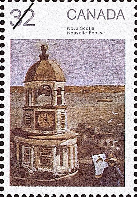 Nova Scotia Canada Postage Stamp