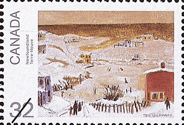 Newfoundland Canada Postage Stamp