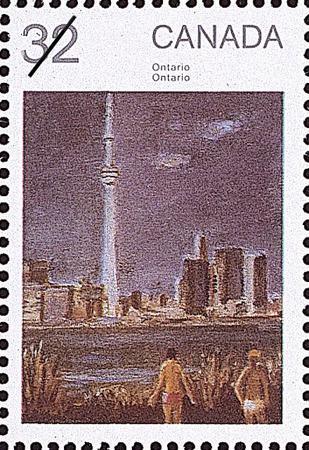 Ontario Canada Postage Stamp | Canada Day, Paintings by Jean Paul Lemieux