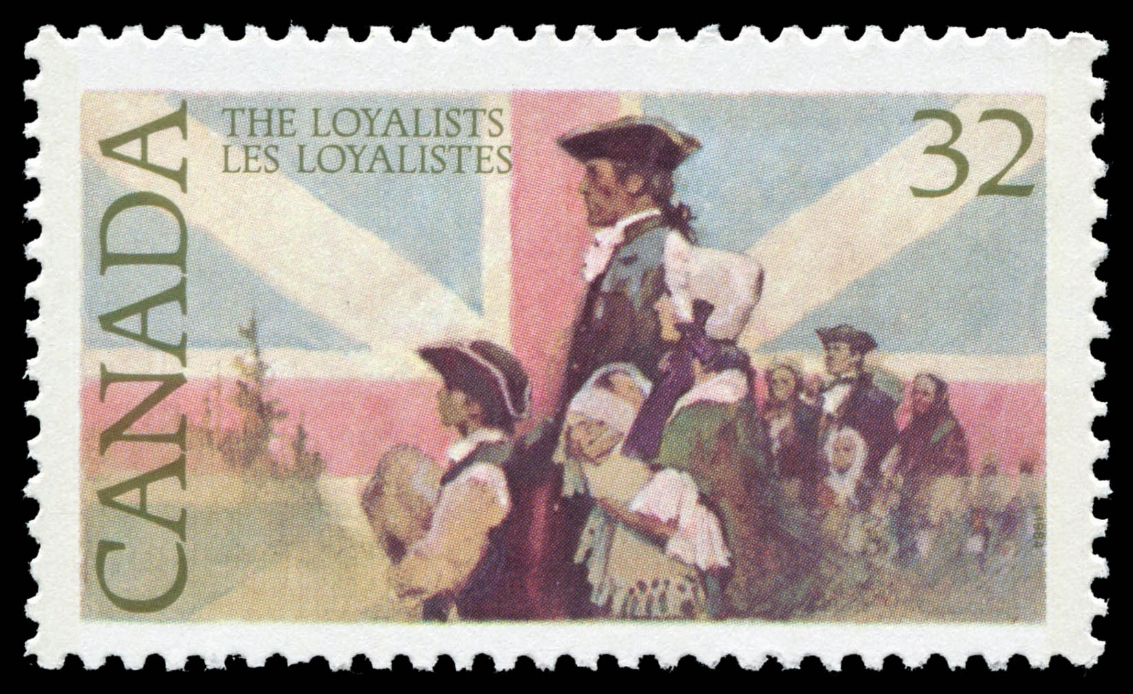 The Loyalists Canada Postage Stamp