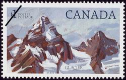 Glacier Canada Postage Stamp | National Parks